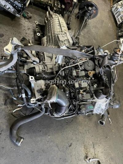 Audi A4 B9 Quattro CYR Engine &Gear box