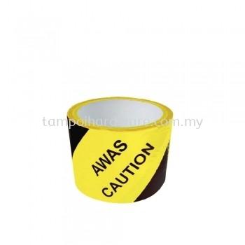 Warning Tape Yellow & Black Colour