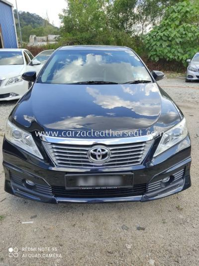 TOYOTA CAMRY SEAT REPLACE SYNTHETIC LEATHER