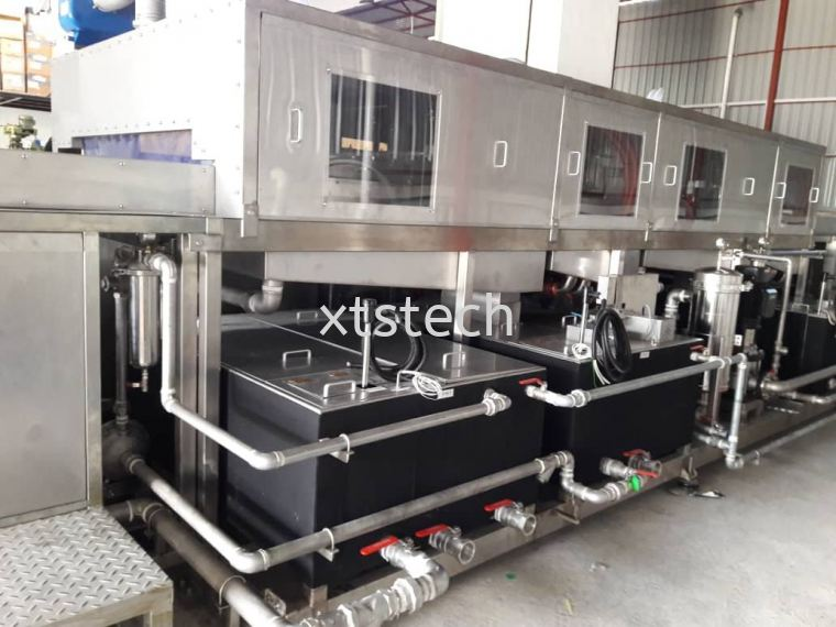 4 stage cleaning machine