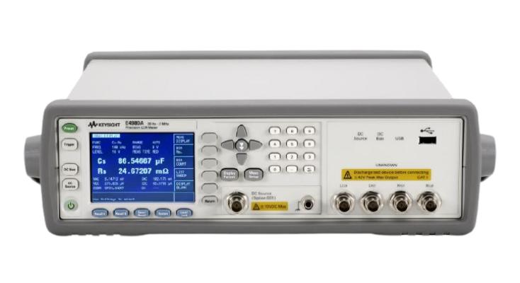 KEYSIGHT E4980A Precision LCR Meter, 20 Hz to 2 MHz
