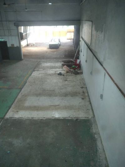 site visit for deep cleaning for industrial hub