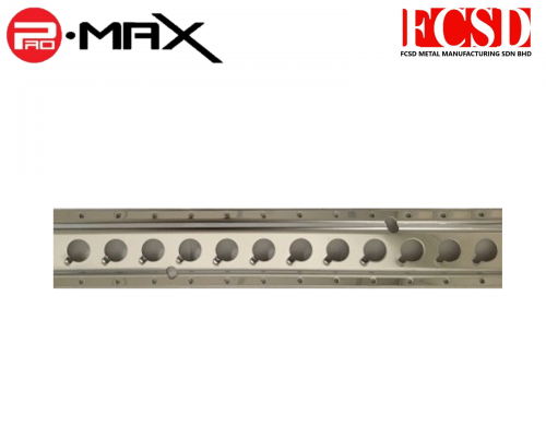 BA-008-R-S Lorry Truck Stainless Steel Cargo Track