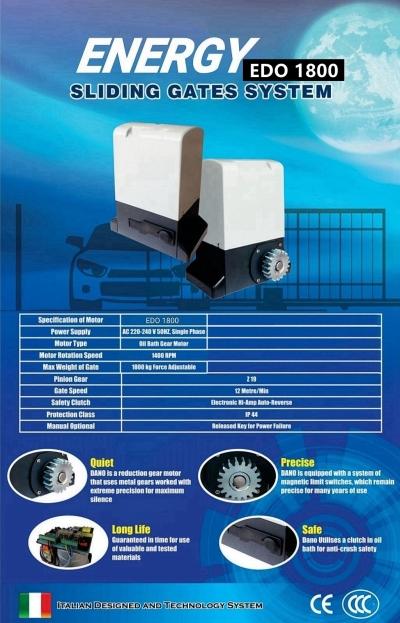 EDO 1000 Energy Sliding Autogate Motor