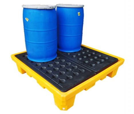 4 Drums Spill Container Pallet