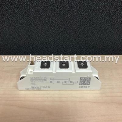 SEMIKRON THYRISTOR/ DIODE MODULE SKKH 57/06 D MALAYSIA
