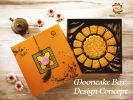 Special Inner Tray Setup with Square Box Mooncake Box Design & Concept