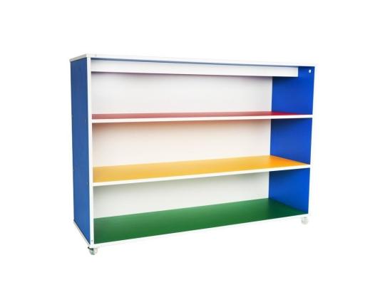 QA001-4 Multi-Coloured 4' Multi-Purpose Storage Shelf