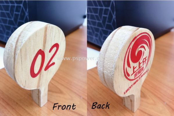 Ordinary Customized Table number for restaurant