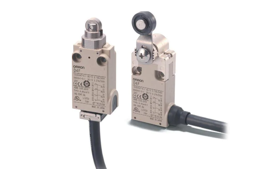 Omron D4F Omron _ Ultra-Small Safety Limit Switch