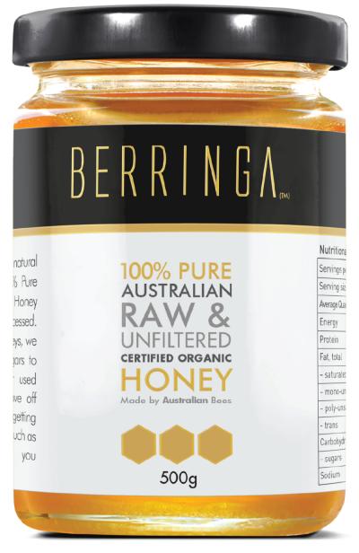 Berringa Certified Organic Eucalyptus Honey