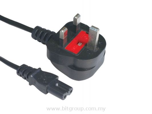 Power Cable - 2 Pin With Fuse