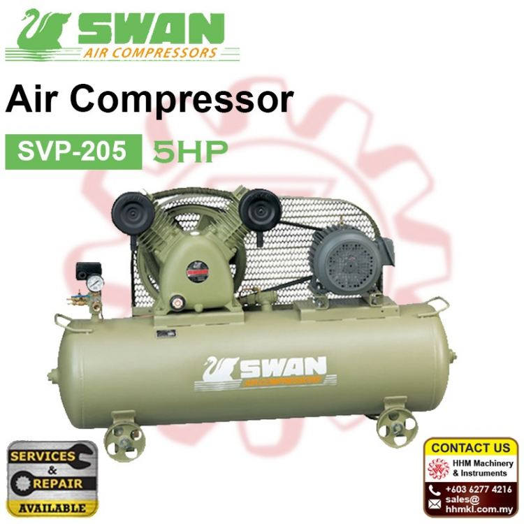 SWAN Air Compressor SVP-205 5HP