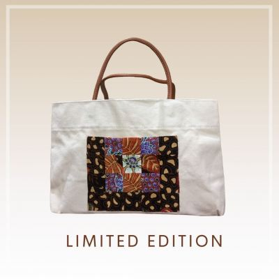BTK(B)002 Batik Canvas Tote Bag