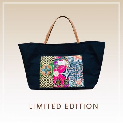BTK(B)021 Batik Canvas Tote Bag