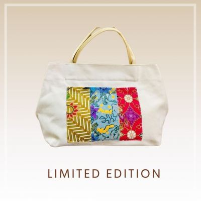 Sold Out - BTK(B)016 Batik Canvas Tote Bag