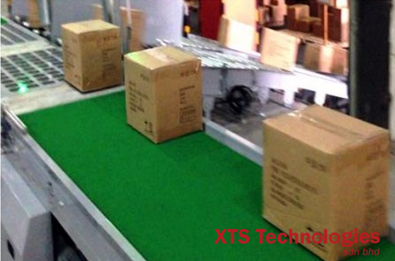 Logistic center for food packaging in XTS