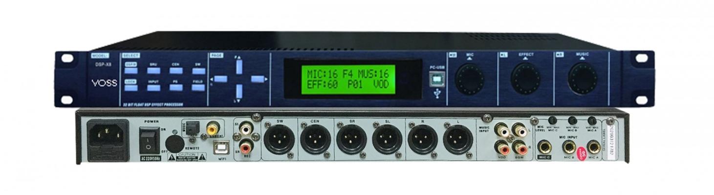 VOSS AUDIO DSP-X8 DIGITAL PROCESSOR