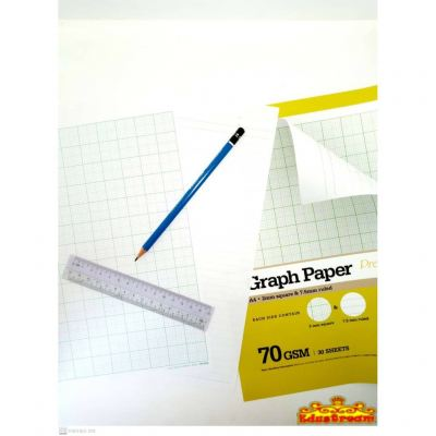 Campap Graph Paper A4 Size 70GSM