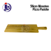 56CM Wooden Pizza Paddle Display Food Storage