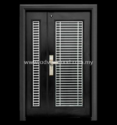 5ft x 7.5ft Local Stainless Steel Grille Security Door