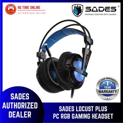 Sades Locust Plus PC RGB Gaming Headset