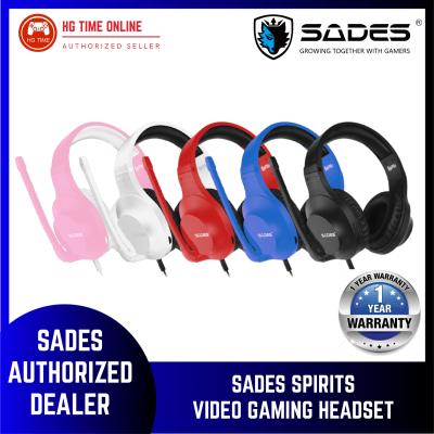 Sades Spirits Video Gaming Headset - BLACK