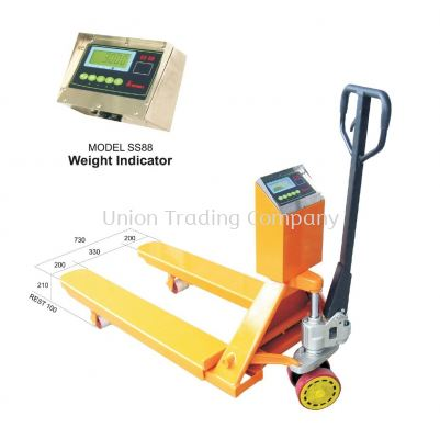 SNOWREX Pallet Weigh Truck SS88-PWT Series Portable Scale