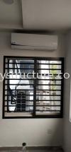 Window Grille at office shop lot @ Jalan Pendidik, Hicom Glenmarie Industrial, 40150 Window Grill