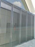Openable louvres 1