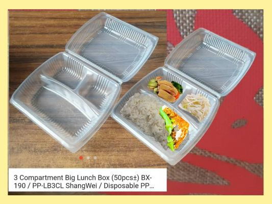 BX-190 Benxon 3C PP Lunch Box M.o.q (300 pcs)