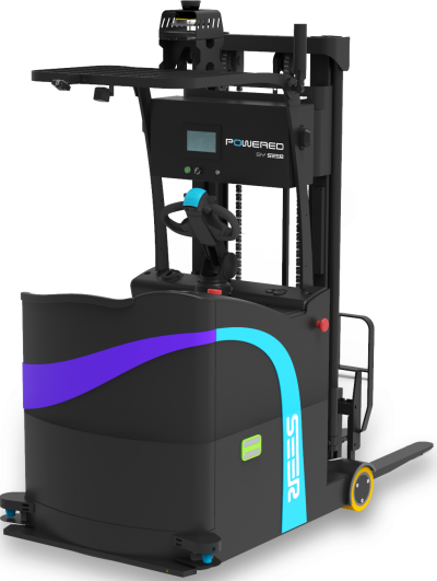 SRC-powered Laser SLAM Counter Balanced Stacking Automatic Forklift SFL-CPD15-T