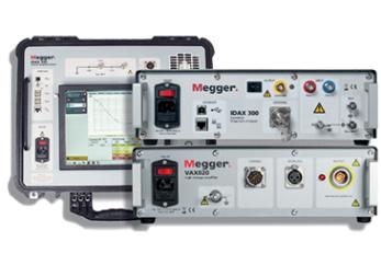 MEGGER IDAX300 and IDAX350 Insulation Diagnostic Analyser