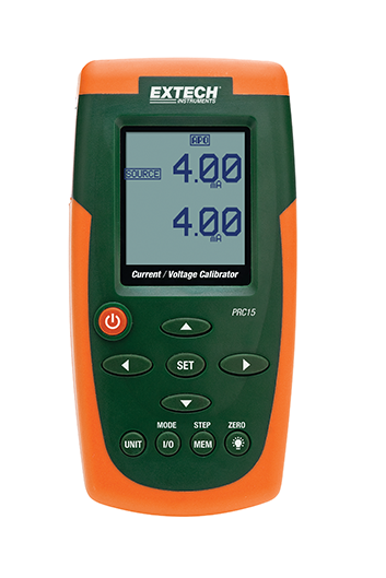 EXTECH PRC15 : Current and Voltage Calibrator/Meter