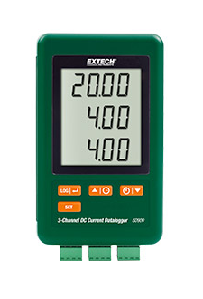 EXTECH SD900 : 3-Channel DC Current Datalogger