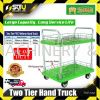 TAHAN THP-532 Two Tier Hand Truck Max. Load 300kg Trolley Warehouse Equipment