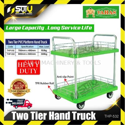 TAHAN THP-532 Two Tier Hand Truck Max. Load 300kg