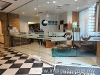 Frosted Film With Company Logo @ Selangor Malaysia