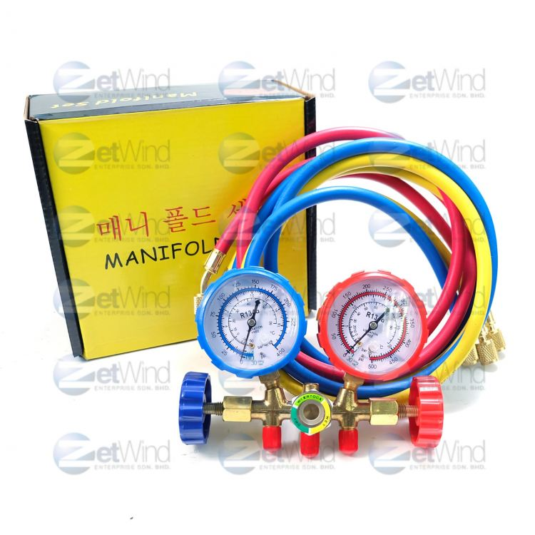 [CODE:260001] MANIFOLD SET CHARGING LINE 5FT_ACC-260001
