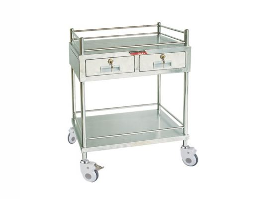 Stainless Steel Treatment Trolley MN-ST02