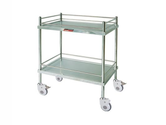 Stainless Steel Medical Trolley MN-ST01