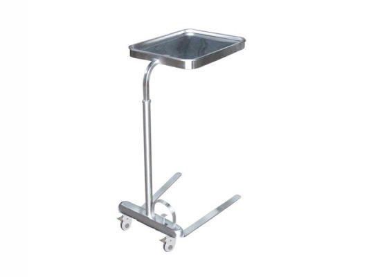 Stainless Steel Mayo Trolley Tray Stand ST10-B