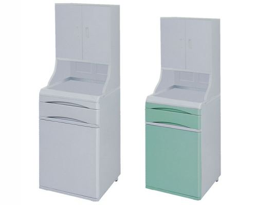 ABS Bedside Locker with Cabinet MN-BL003