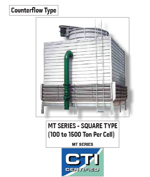 Genius Cooling Tower -Counter Flow Type