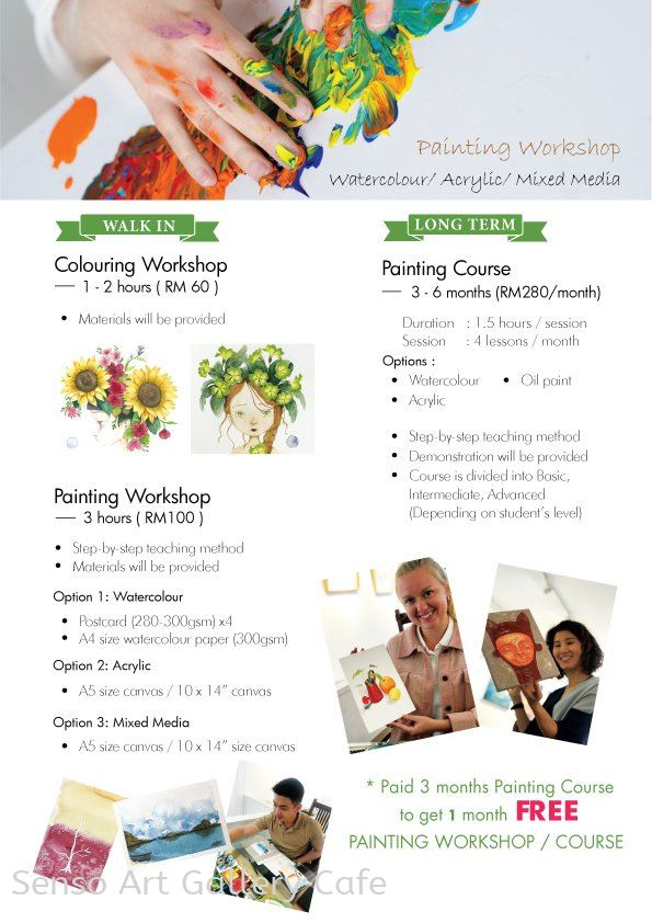 Painting Course Promotion