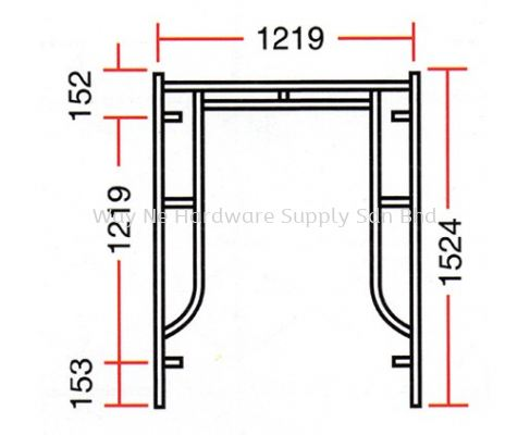 Main Frame 1219(mm) X 1524(mm)