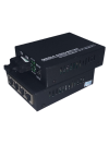 SONICVIEW - 10/100/1000BASE SM SC DUALCORE 4PORT MEDIA CONVERTER  MEDIA & VIDEO CONVERTER FIBER OPTIC