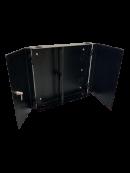 24PORT SC/LC DUPLEX  PATCH PANEL DOOR TYPE (BEIGE/BLACK)