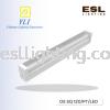 YLI T8 LED Daikon Diffuser Fitting OS SQ 120/PT/LED T8 LED Daikon Diffuser Fitting  YLI LIGHTING