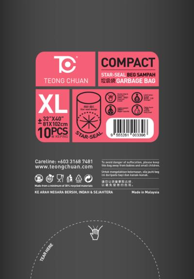 Star - Seal Garbage Bag (XL) - Per Bundle